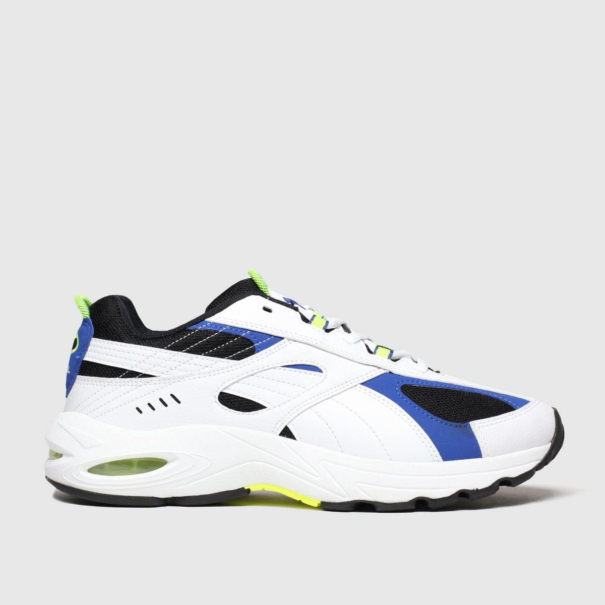 Puma White & Blue Cell Speed Trainers
