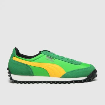 Puma Green Fast Rider Source Mens Trainers