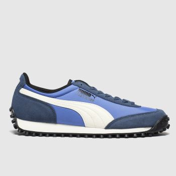 Puma Blue Fast Rider Source c2namevalue::Mens Trainers