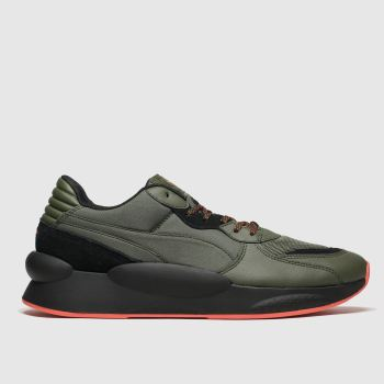 Puma Khaki Rs 9.8 Trail Mens Trainers