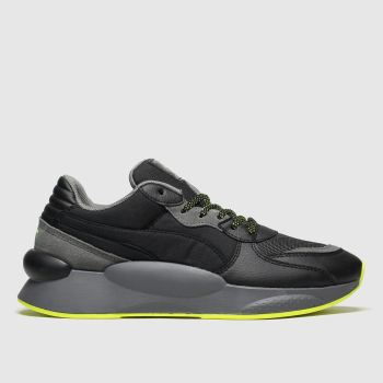 Puma Black & Grey Rs 9.8 Trail Mens Trainers