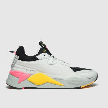 PUMA Light Grey Rs-x Master Mens Trainers