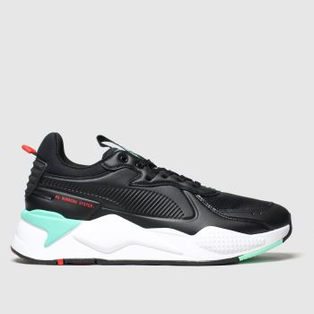Puma Black Rs-x Master c2namevalue::Mens Trainers
