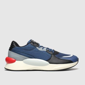 PUMA Navy & Red Rs 9.8 Fresh Mens Trainers