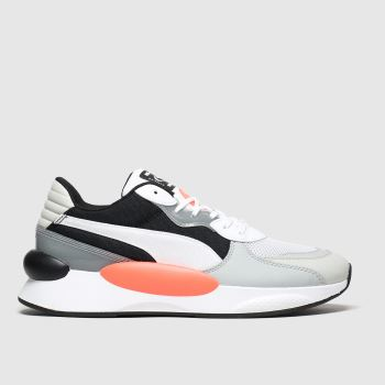 Puma Black & Grey Rs 9.8 Fresh c2namevalue::Mens Trainers
