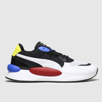 Puma Black & White Rs 9.8 Fresh Mens Trainers