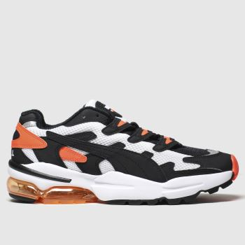 Puma Black & Orange Cell Alien Og Mens Trainers