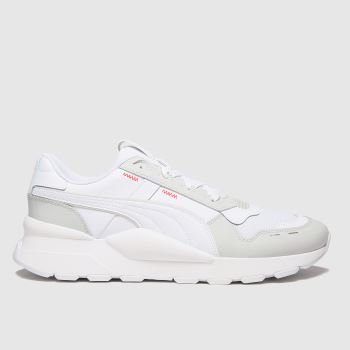 PUMA White Rs 2.0 Futura Mens Trainers