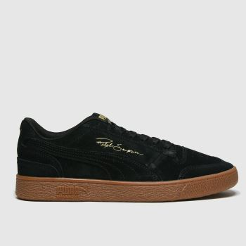 PUMA Black Ralph Sampson Lo Mens Trainers