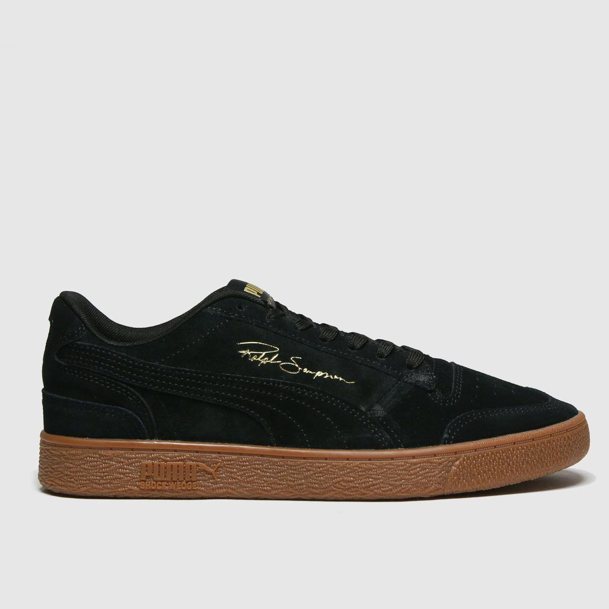 Puma Black Ralph Sampson Lo Trainers