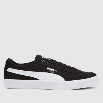 PUMA Black Oslo Vulc Cvs Mens Trainers