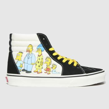 Vans Multi Sk8-hi The Simpsons Mens Trainers