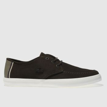 Lacoste Brown Sevrin Mens Trainers