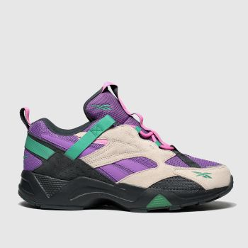 Reebok Purple Aztrek 96 Mens Trainers