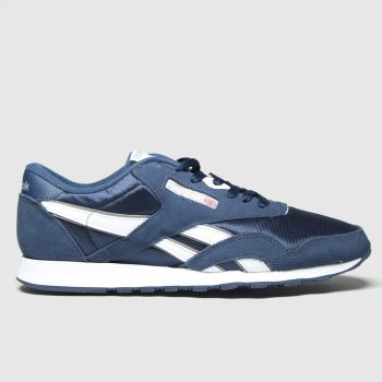 Reebok Navy Classic Nylon c2namevalue::Mens Trainers