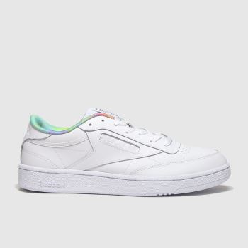 Reebok White Club C 85 Pride c2namevalue::Mens Trainers