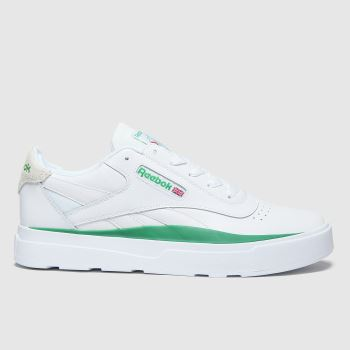 Reebok White & Green Legacy Court Mens Trainers