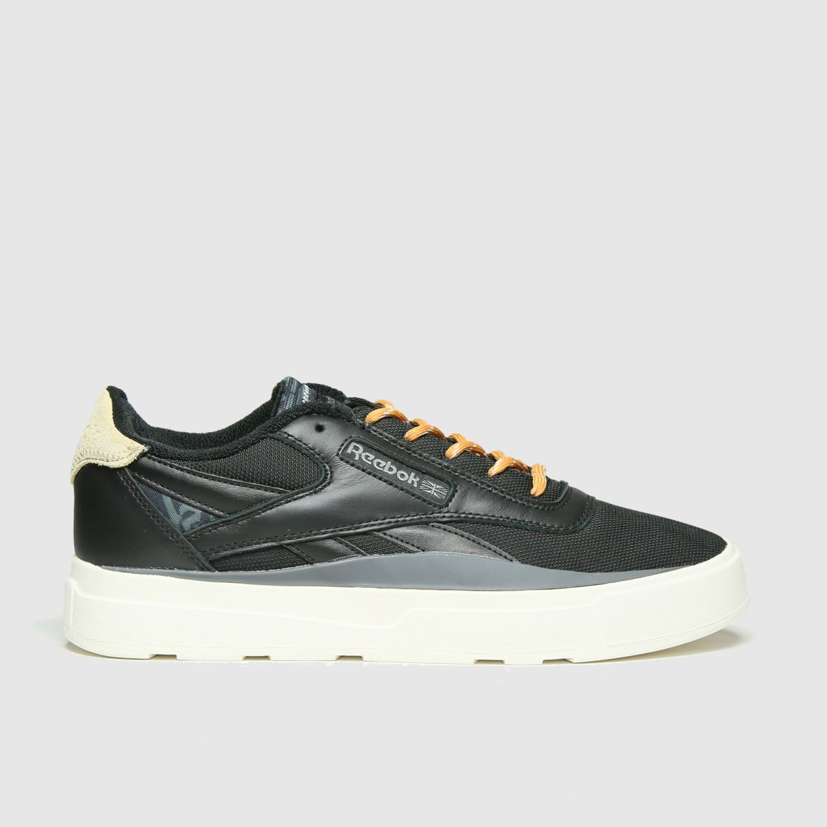 Reebok Black Legacy Court Trainers