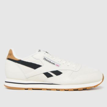 Reebok White Cl Leather Mens Trainers