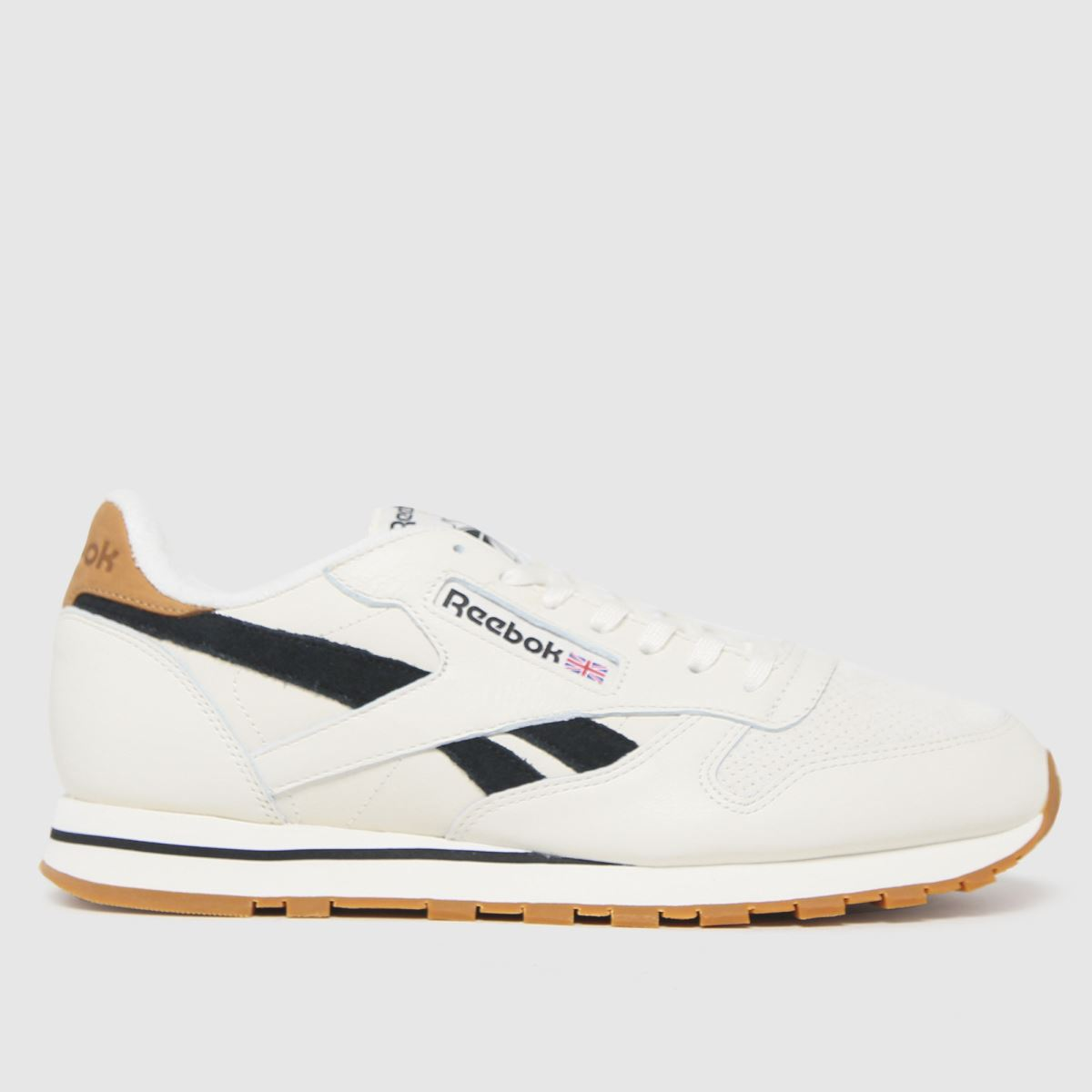 Reebok White Cl Leather Trainers