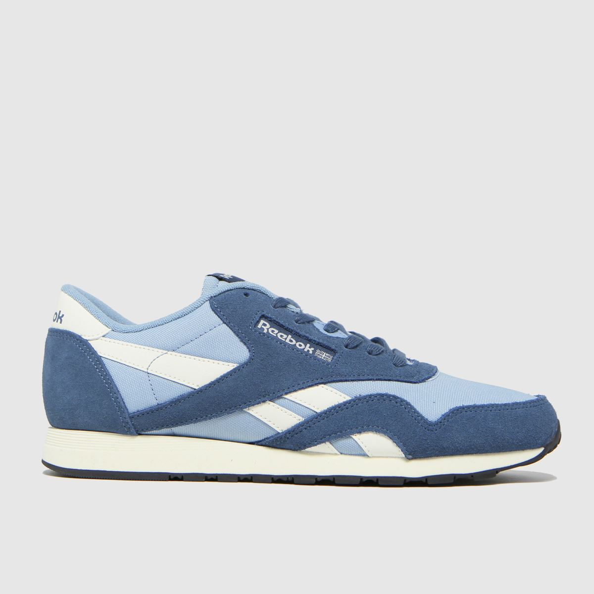 Reebok Blue Cl Nylon Trainers