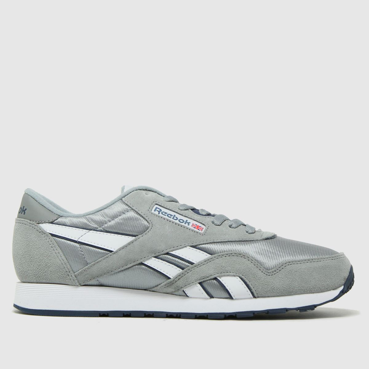 Reebok Grey Cl Nylon Trainers