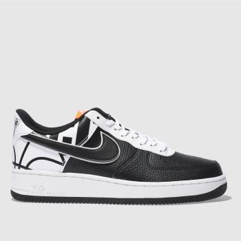 Nike Black Air Force 1 07 Lv8 Mens Trainers