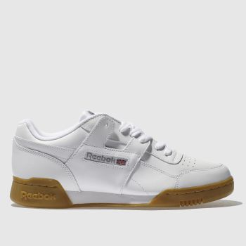 Reebok White Workout Plus Nt c2namevalue::Mens Trainers