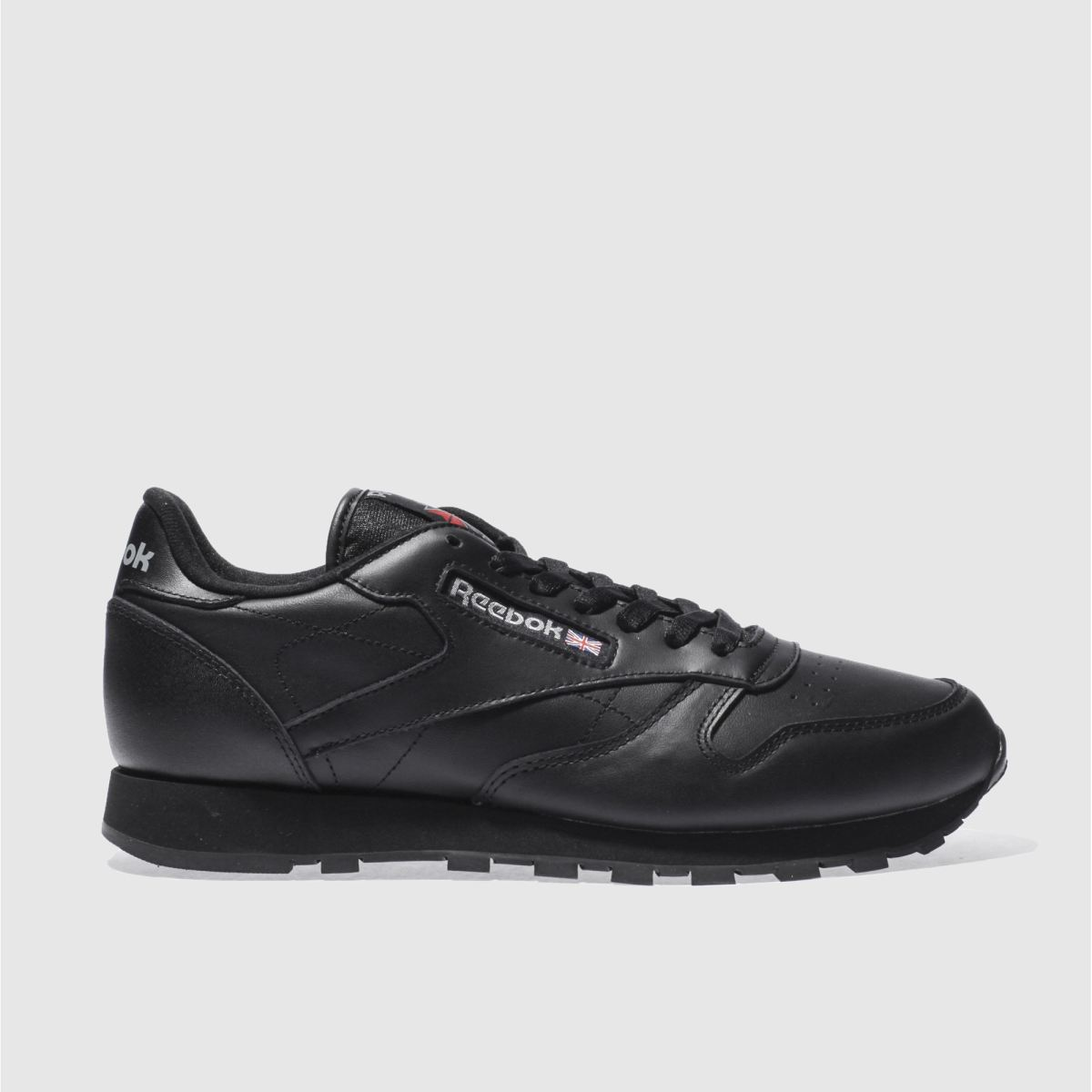 Reebok Black Classic Leather Trainers