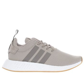 Adidas Beige NMD_R2 Trainers