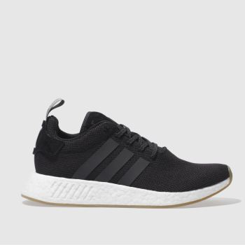 Adidas Black Nmd_R2 Mens Trainers