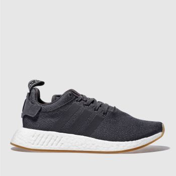 Adidas Grey Nmd_R2 Mens Trainers