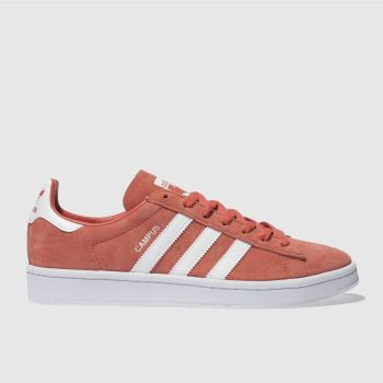 Adidas Orange Campus Mens Trainers