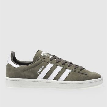 Adidas Khaki Campus Mens Trainers