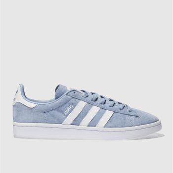 Adidas Blue Campus Mens Trainers