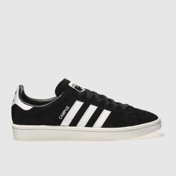 Adidas Black & White Campus Mens Trainers