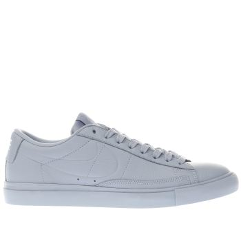 NIKE PALE BLUE BLAZER LOW TRAINERS