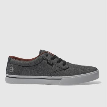 Etnies Black & Grey Jameson 2 Eco Mens Trainers