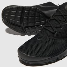 timeless design a4b50 68a5d nike black presto fly trainers