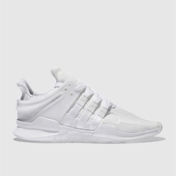 Adidas White Eqt Support Adv Mens Trainers