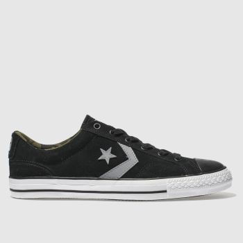 Converse Black Star Player Ox Mens Trainers