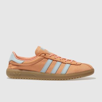 Adidas Orange Bermuda Mens Trainers