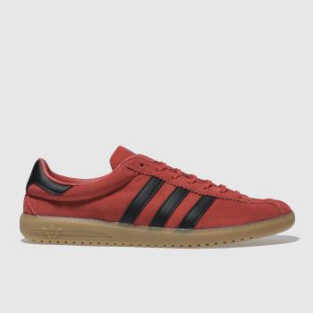 Adidas Red Bermuda Mens Trainers