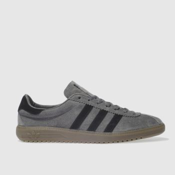 ADIDAS GREY & BLACK BERMUDA TRAINERS
