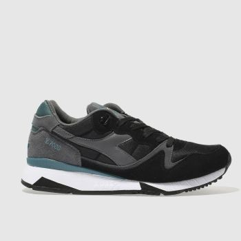 Diadora Black V7000 Ii Mens Trainers