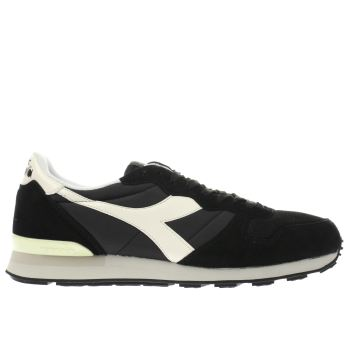 Diadora Black Camaro Mens Trainers