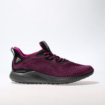 huge selection of 46c0f 3bb39 ADIDAS BURGUNDY ALPHABOUNCE EM TRAINERS