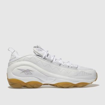 Reebok White Dmx Run 10 Mens Trainers