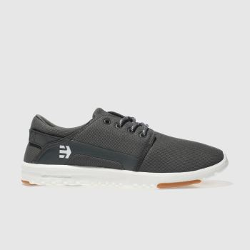 Etnies Dark Grey Scout Mens Trainers
