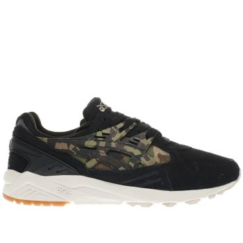 Asics Black & Green GEL-KAYANO TRAINER Trainers